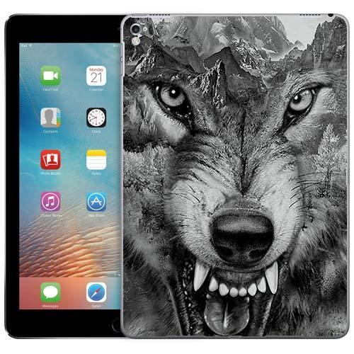 Чехол Gosso Cases для Apple iPad Pro 9.7 «Волк в горах»