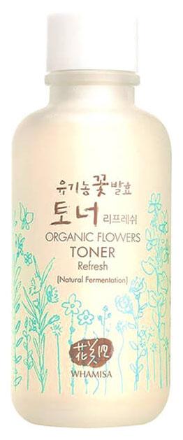 Тонер Whamisa Organic Flowers Toner Refresh фото