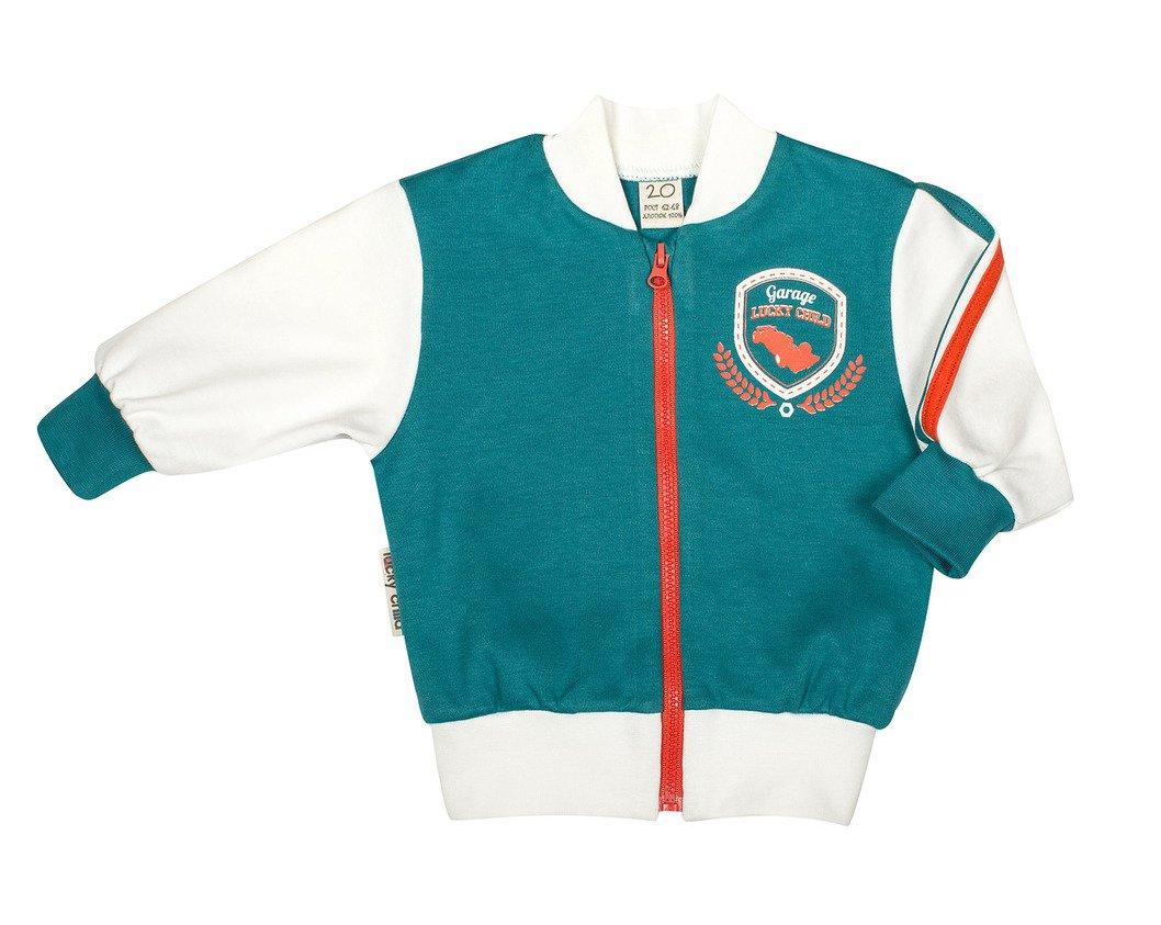 Купить Кофта на молнии Формула-1 Lucky child 21-18, р. 80-86, Кофточки, футболки для новорожденных