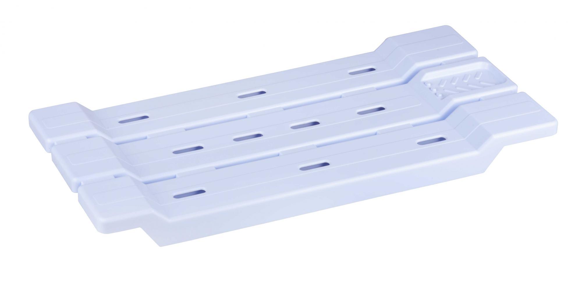 Полка для ванной(сиденье голубой) М1382