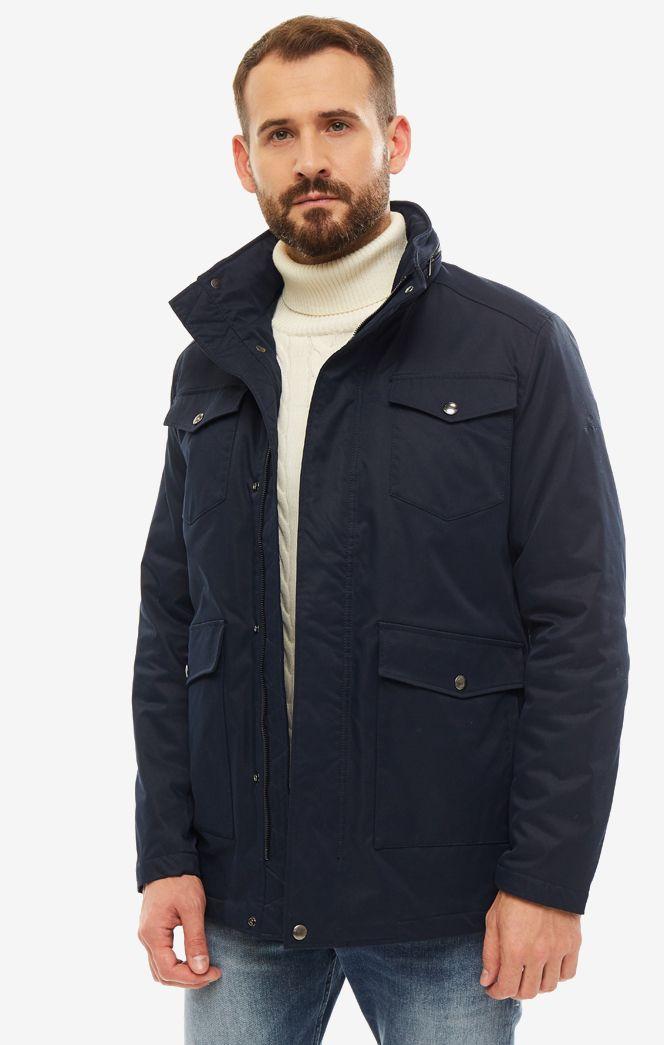 Куртка мужская GANT 7006001.405 синяя XXL