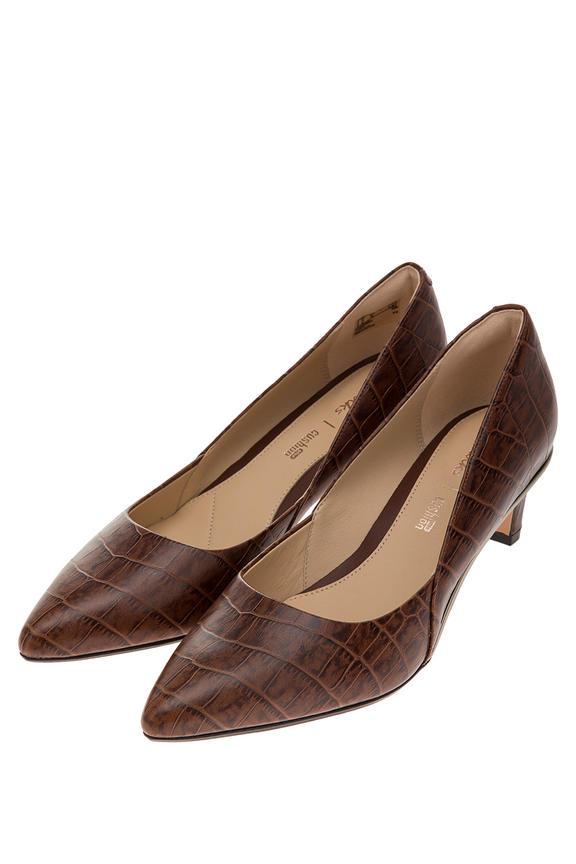 Туфли женские Clarks коричневые
