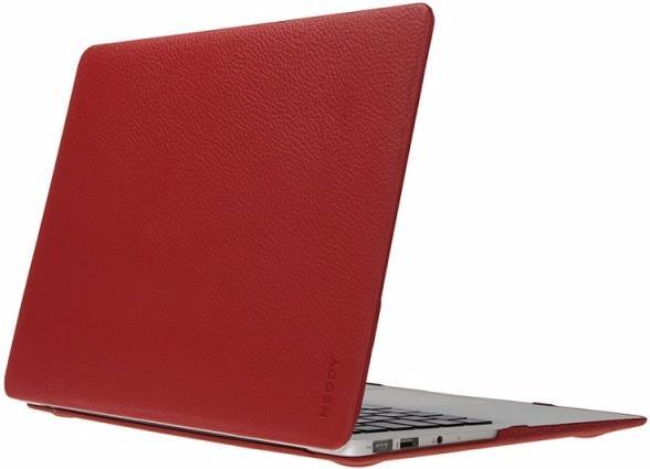 Чехол Heddy Leather Hardshell (HD-N-A-13o-01-09) для MacBook Pro 13\'\' 2009-2011 (Red)