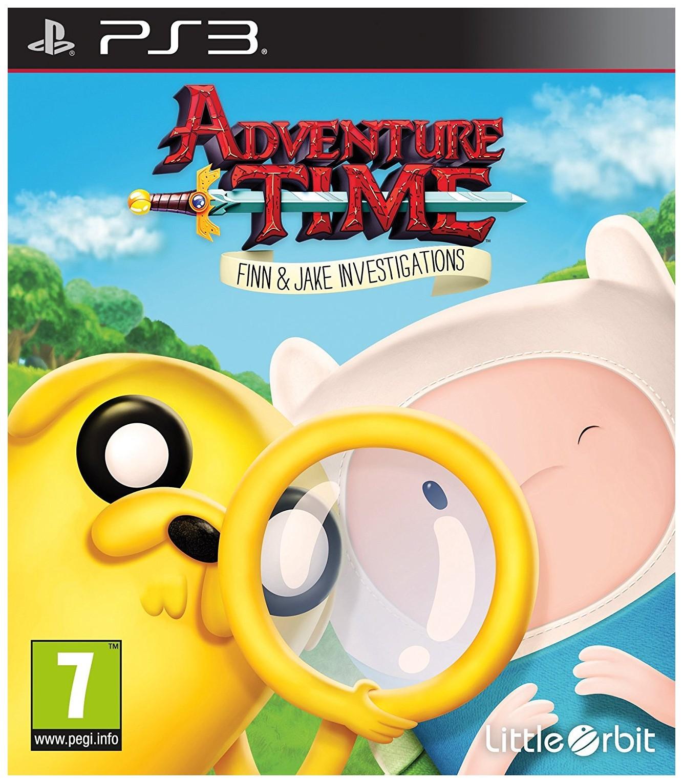 Игра для PlayStation 3 Adventure Time: Finn and Jake Investigations фото