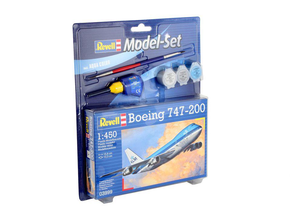 Купить Набор самолет боинг 747-200, Revell, Модели для сборки
