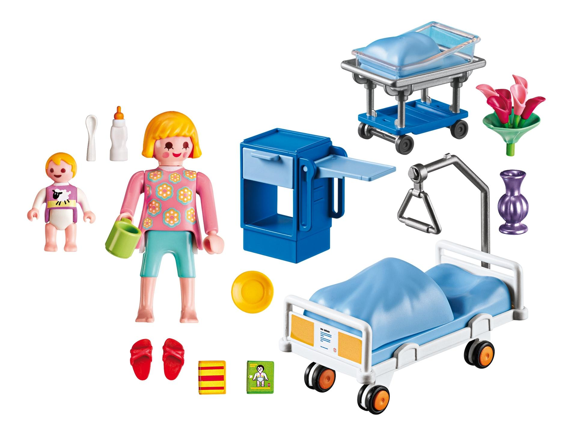 Детская клиника: комната матери и ребенка