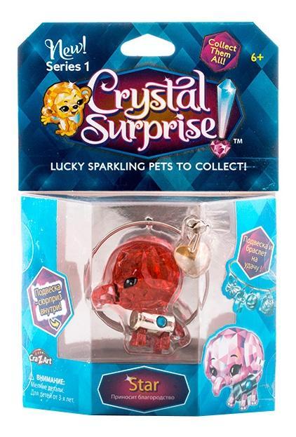 Купить Слоник, Crystal surprise 45712 кристал сюрприз фигурка слоник + браслет и подвески, Фигурки животных