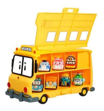 Купить Кейс для хранения машинок скулби (вместимость 14 машинок), Robocar Poli, Игровые наборы
