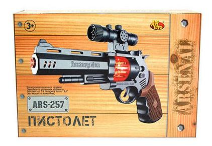 Купить Пистолет со звуковыми и световыми эффектами, 25, 5x17x5 см, ABtoys, Игрушечные пистолеты