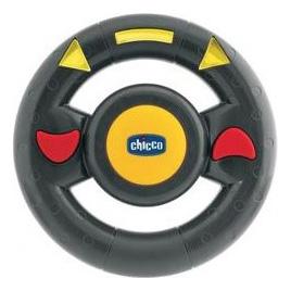 Игрушка-машинка Chicco Билли большие колеса, с д/у желтая