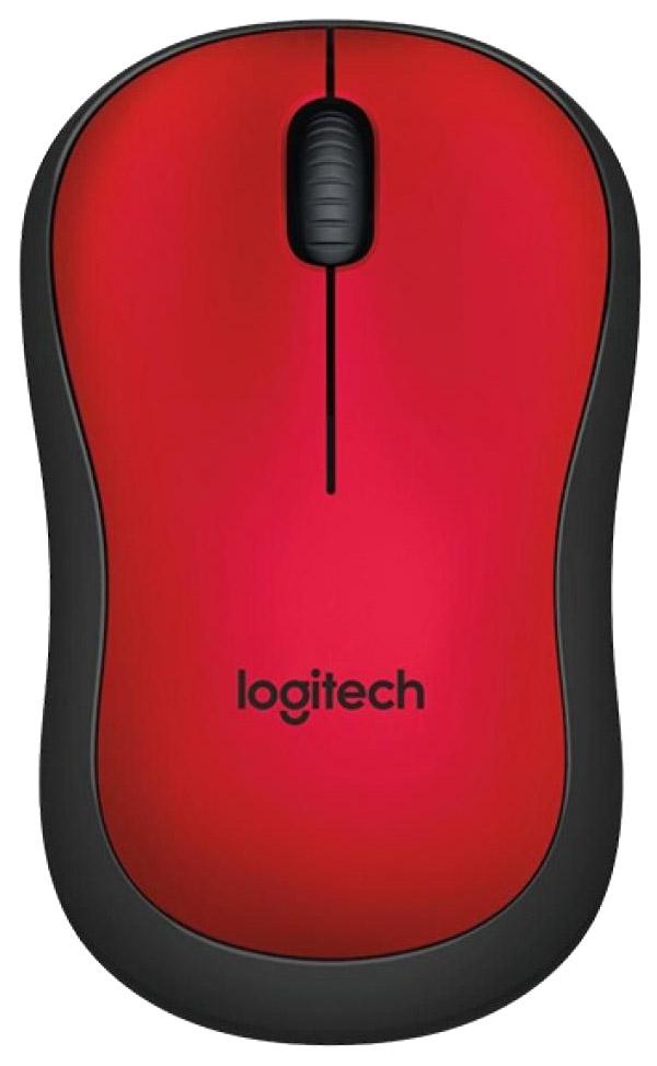 Беспроводная мышь Logitech M220 Silent Red (910-004880) фото