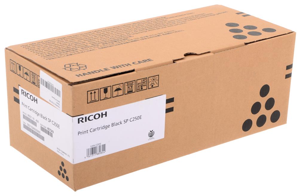 Картридж для лазерного принтера Ricoh SP C250E, черный, оригинал фото