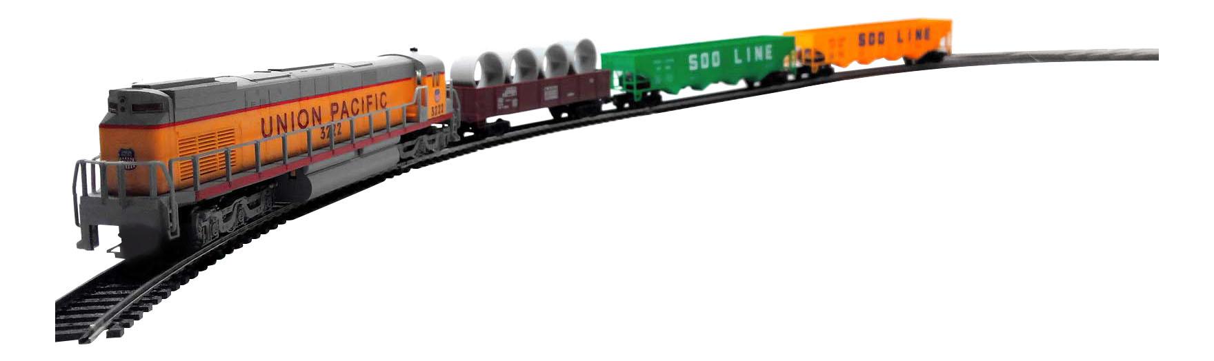 Железная дорога Mehano Cargo с ландшафтом (T113)