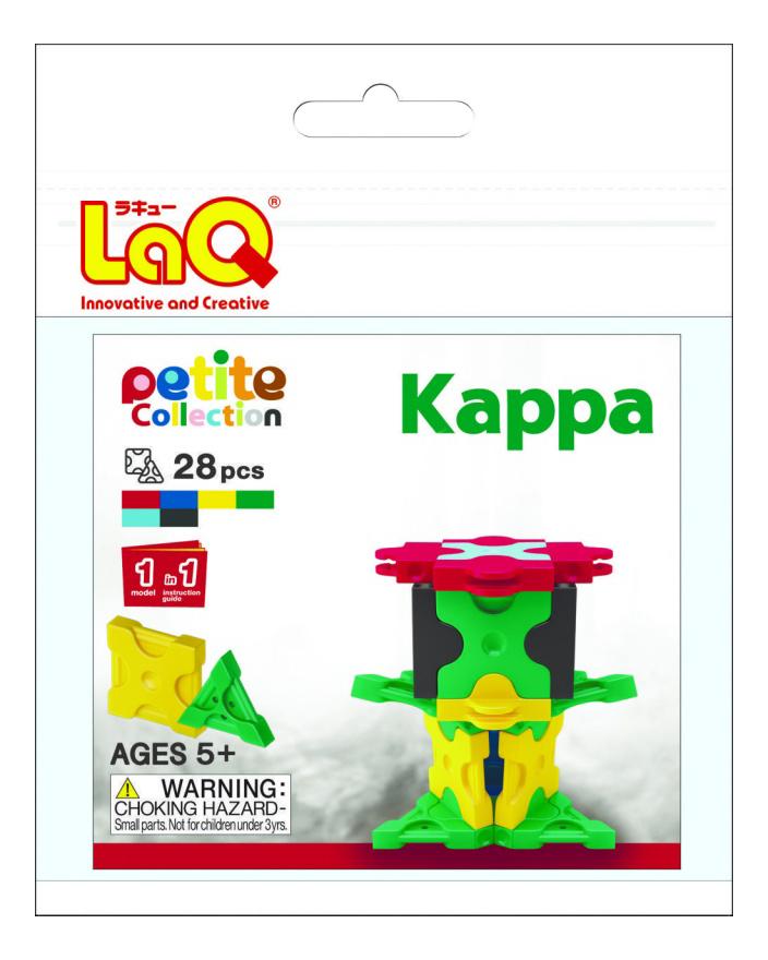 Конструктор пластиковый LaQ Kappa.