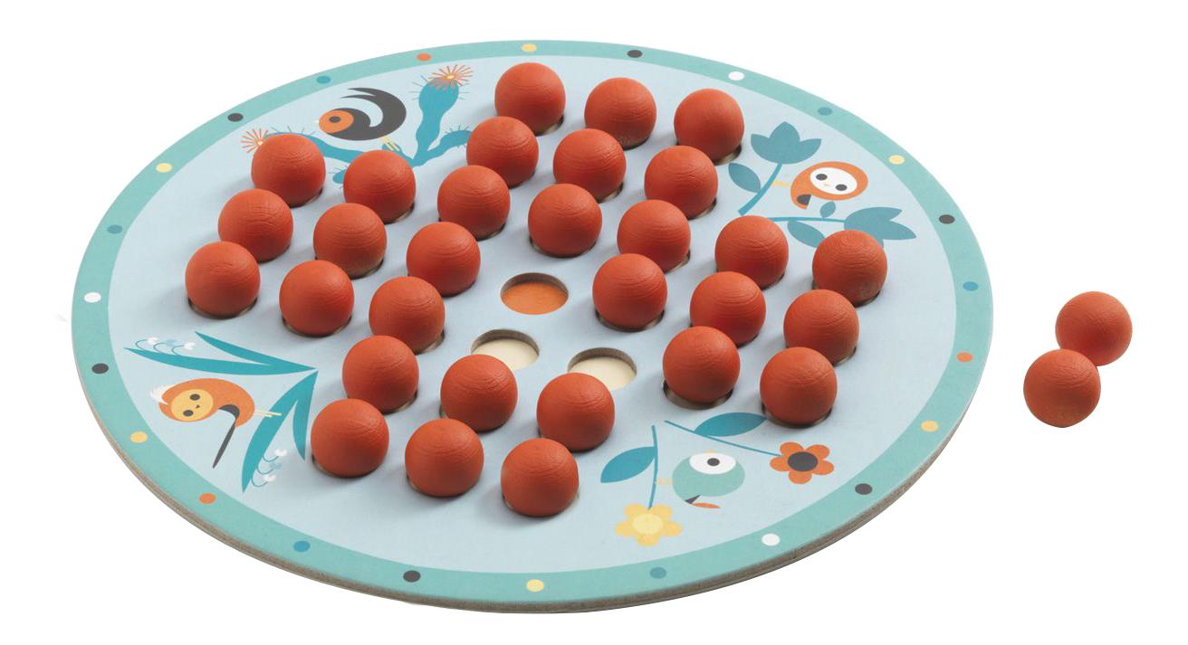 Купить Семейная настольная игра Djeco Solitaire, Семейные настольные игры