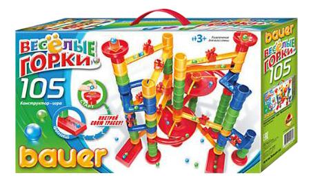 Конструктор пластиковый Bauer Кроха Веселые Горки 274 105 Элементов фото