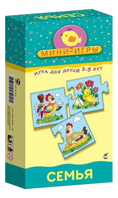 Купить Настольная мини-игра Дрофа-Медиа Семья, Семейные настольные игры