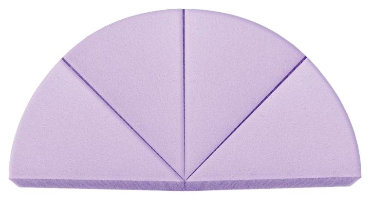 Набор спонжей Vivienne Sabo треугольных 4 шт