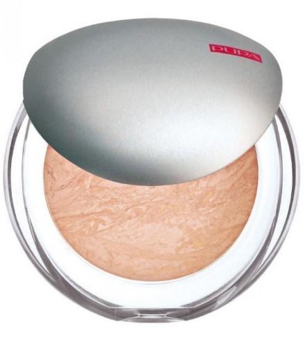 Пудра компактная запеченная PUPA Luminys Baked Face Powder, тон №05 Amberlight (52405)