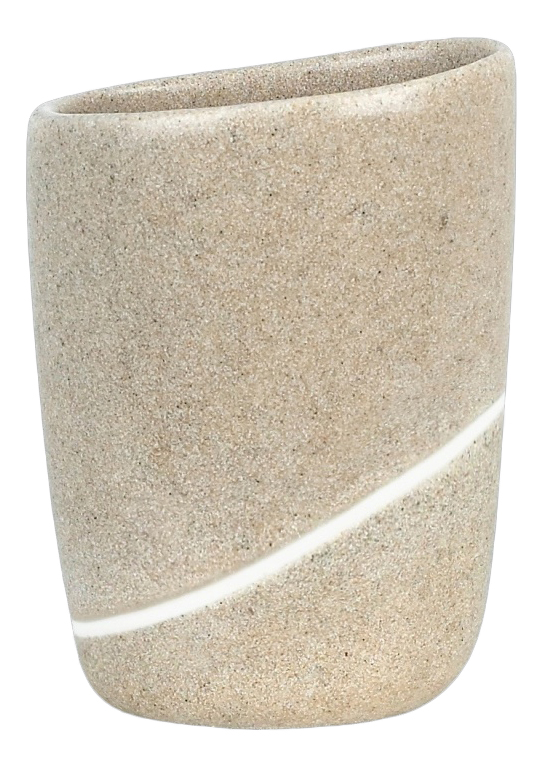 Стакан для зубных щеток Spirella Etna Stone