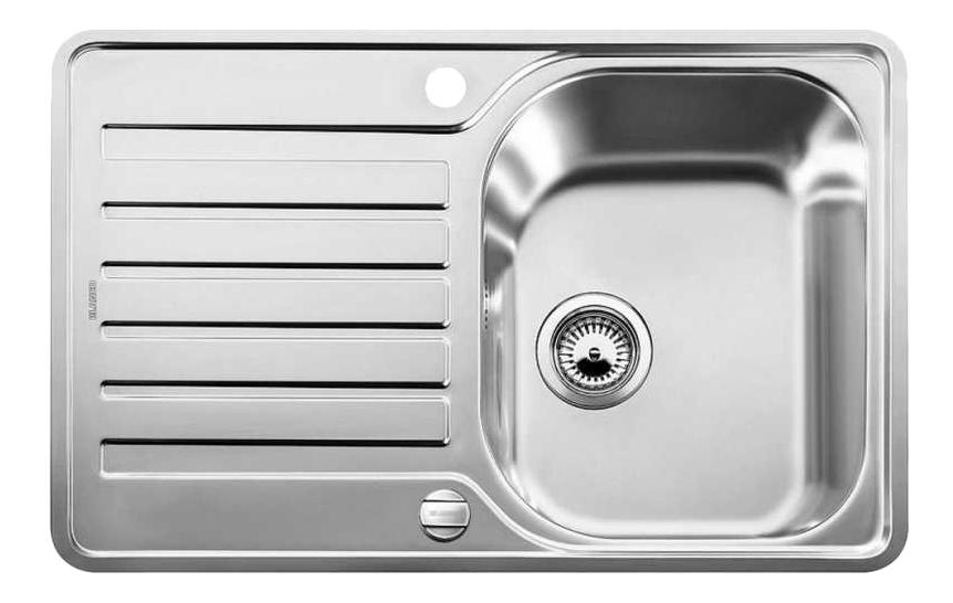 Мойка для кухни из нержавеющей стали Blanco LANTOS 45 S-IF Compact 519059 серебристый