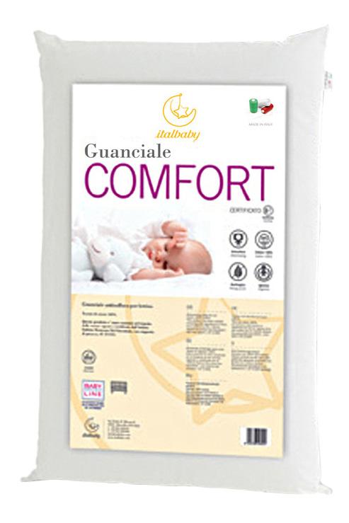 Подушка детская Italbaby Comfort 38х55 белый
