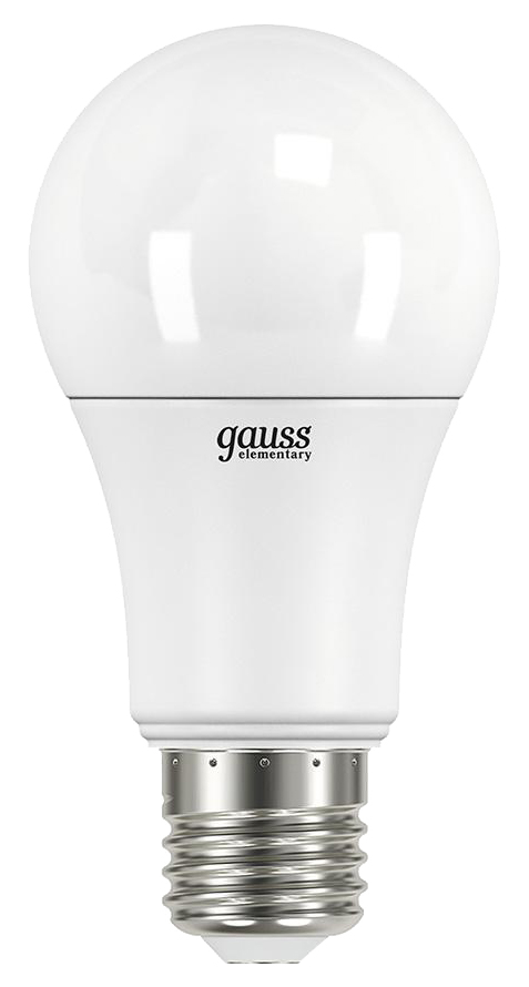 Упаковка 10 шт LED ламп Gauss Elementary A60 10W E27 2700K фото
