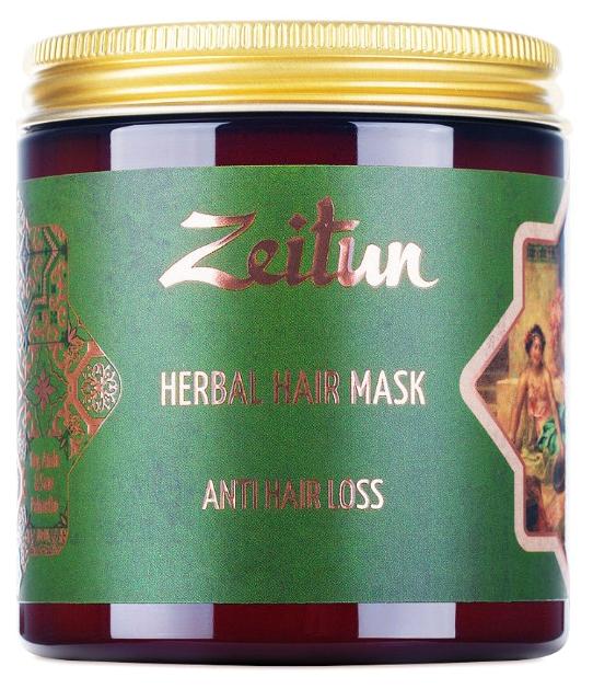 Фито-маска Zeitun Против выпадения волос с грязью Мертвого моря и амлой, 250 мл фото