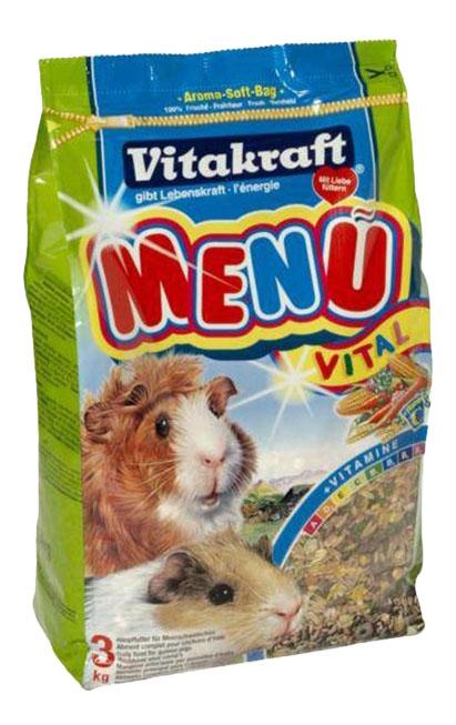 Корм для морских свинок Vitakraft Menu Vital 3 кг 1 шт