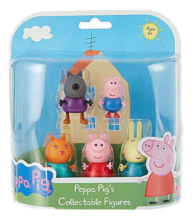 Купить Пеппа и друзья, Игровой набор Peppa Pig Пеппа и друзья, Росмэн, Игровые наборы