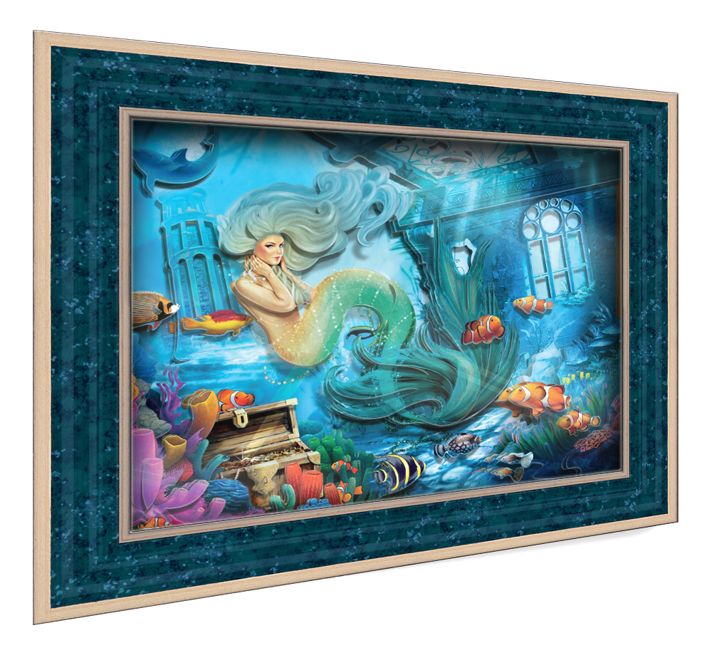 Аппликация из картона Vizzle Тайны морских глубин