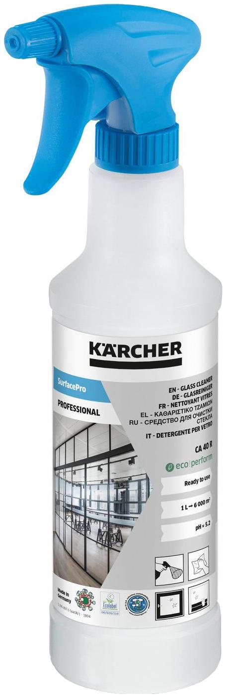 Чистящее средство для стекол и зеркал Karcher