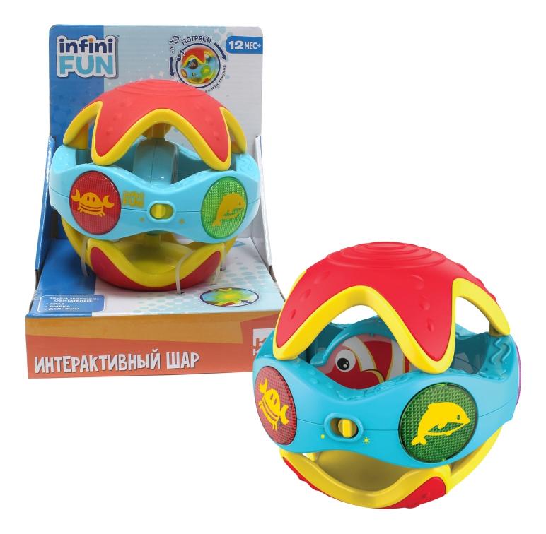 Интерактивная развивающая игрушка 1 TOY Интерактивный шар