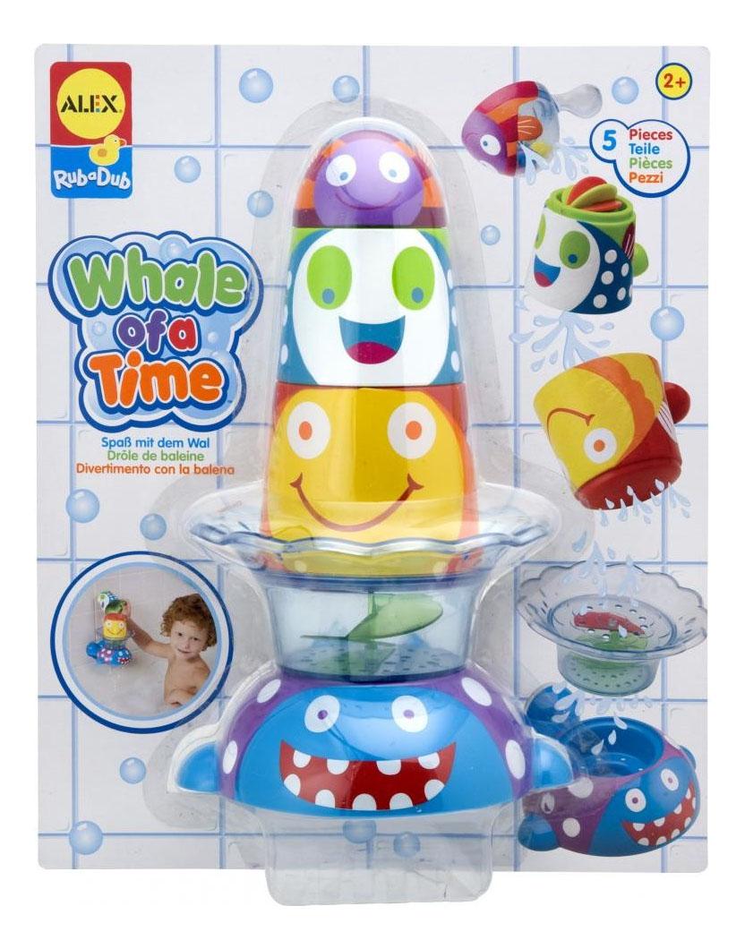 Купить Игрушка для купания ALEX Китенок и друзья, Игрушки для купания