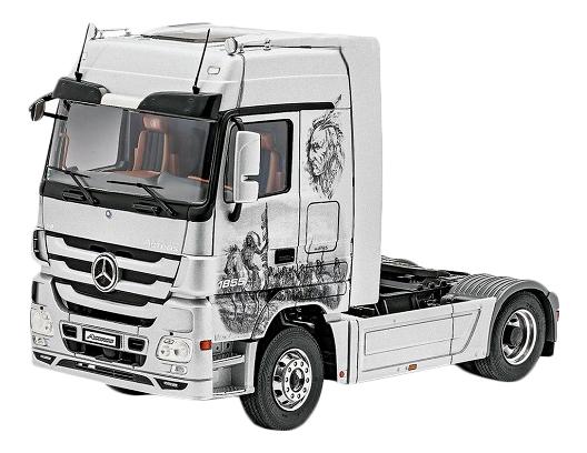 Купить Сборная модель Автомобиль-тягач Mercedes-Benz Actros MP3 Revell 07425R, Модели для сборки