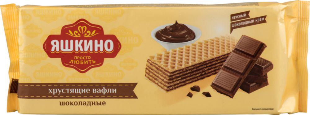 Вафли Яшкино шоколадные 300 г фото