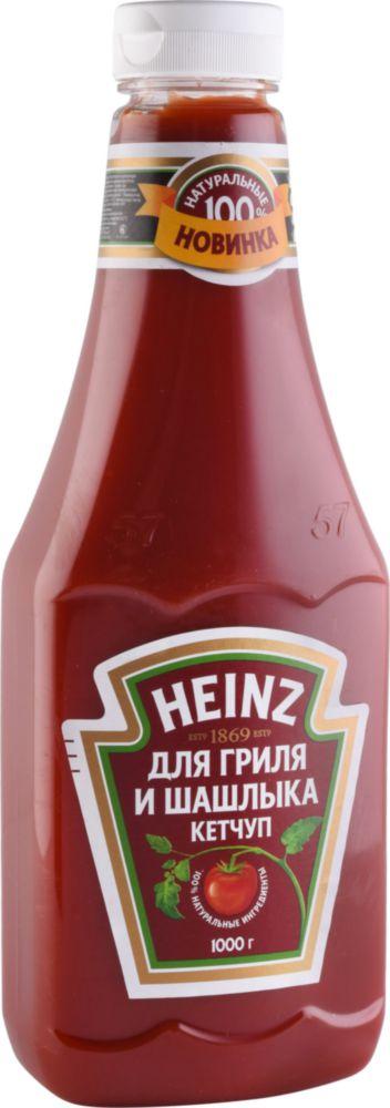 Кетчуп Heinz для гриля и шашлыка 1000 г фото