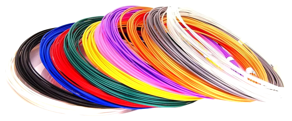 Купить Набор пластика Spider Pen PLA для 3D ручек 12 цветов, Unid,