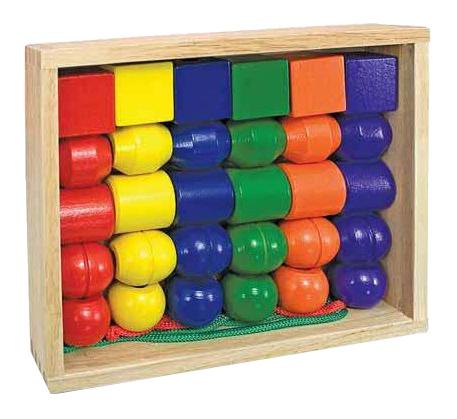 Деревянная игрушка для малышей Первые бусики Melissa and Doug Melissa & Doug