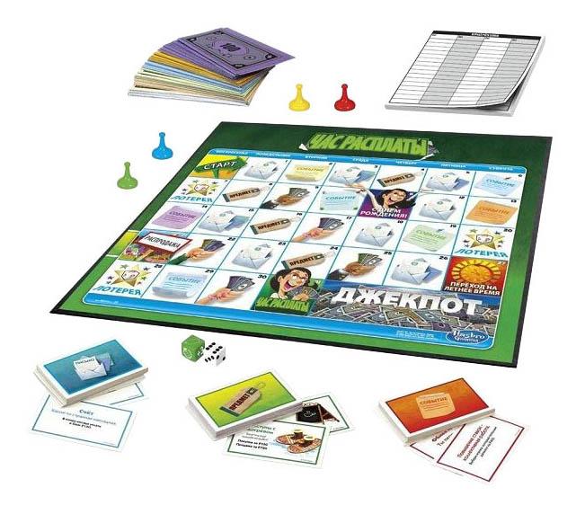 Экономическая настольная игра Час расплаты Hasbro Other Games E0751