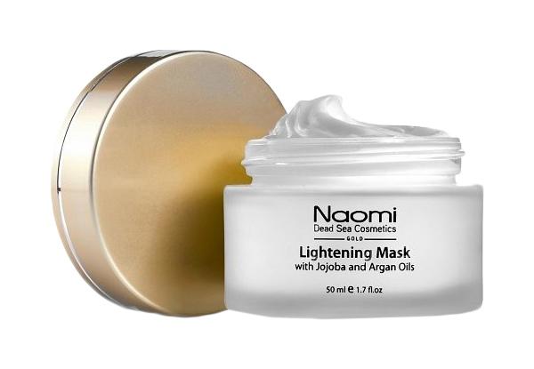 Маска для лица Naomi Осветляющая с маслами жожоба и арганы Белый 50 мл