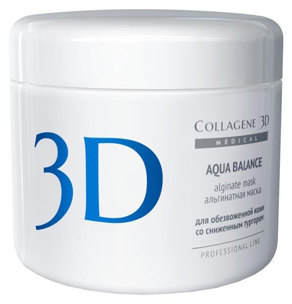 Купить Маска для лица Medical Collagene 3D Aqua Balance Alginate Mask 200 г