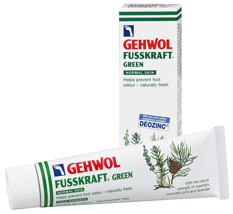 Бальзам для ног Gehwol Fusskraft Green 125 мл