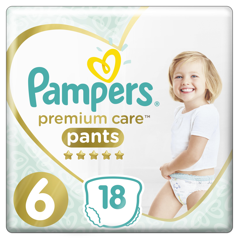 Подгузники-трусики PAMPERS Premium Care Pants Extra Large (15+ кг) 18 шт.