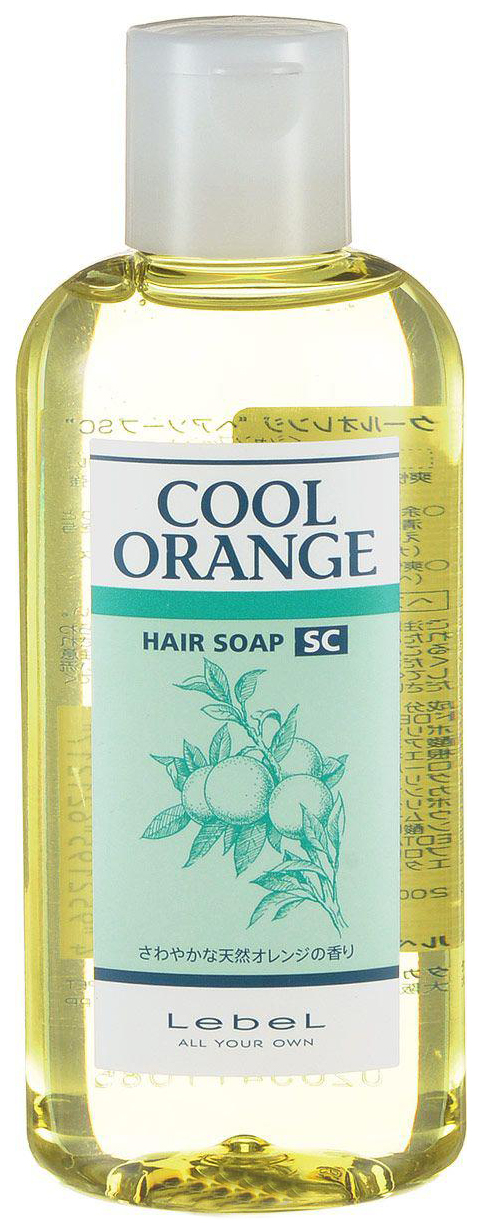 Шампунь Lebel Cool Orange Hair Soap Super Cool 200 мл фото