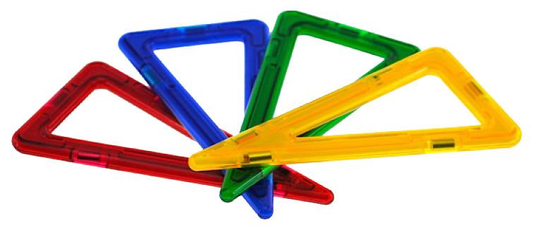 Конструктор магнитный Магникон Равнобедренный треугольник МК-4-РТ