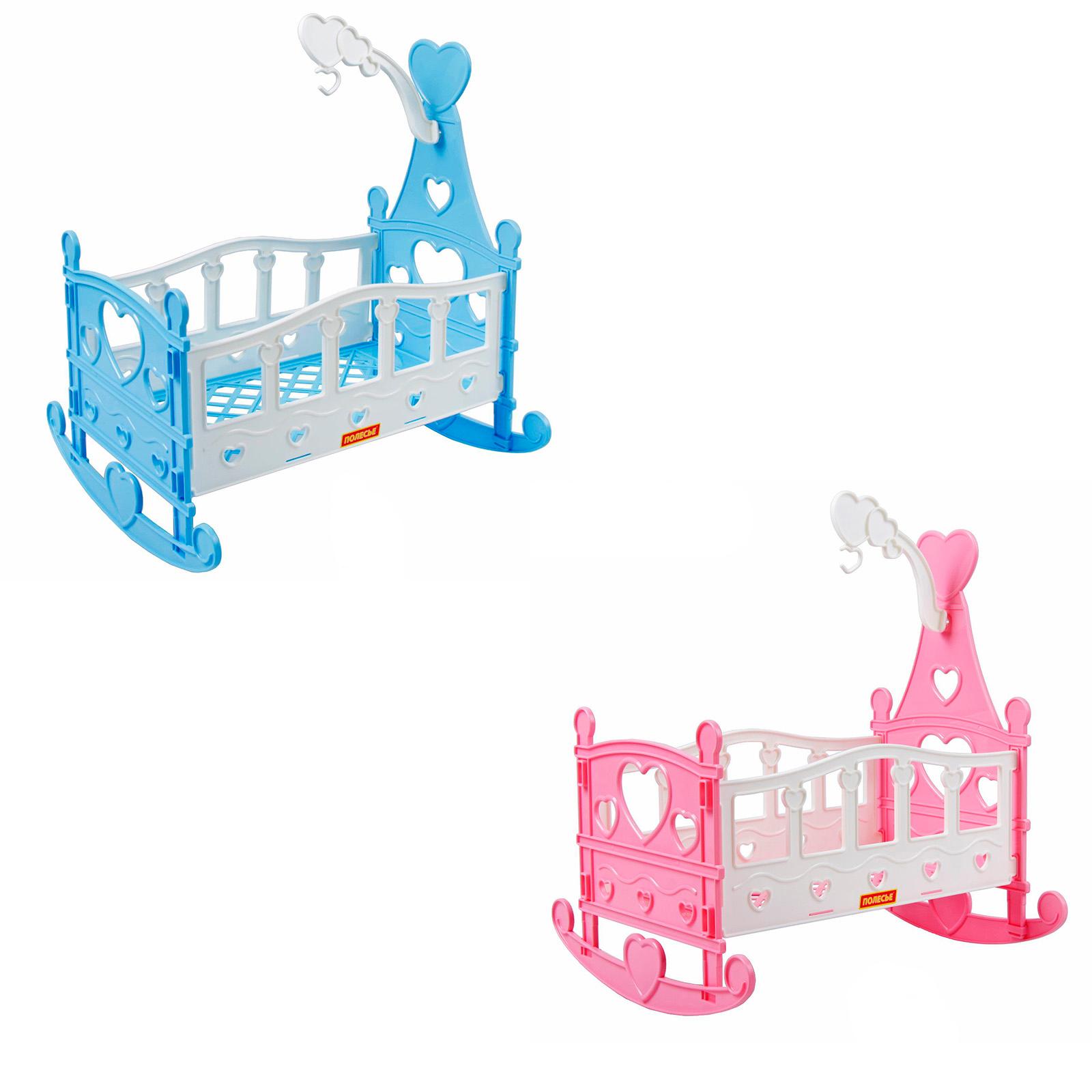 Кроватка качалка сборная для кукол №3