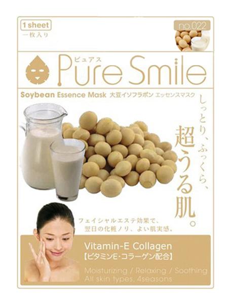 Маска для лица SUNSMILE Pure Smile Essence Mask Soybean 23 мл фото