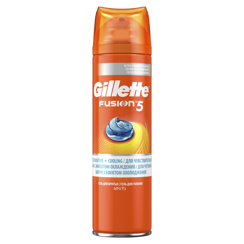 Гель для бритья Gillette Fusion Охлаждающий