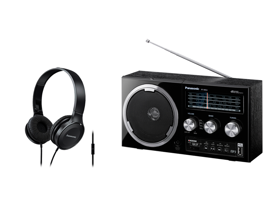 Комплект радиоприемник Panasonic RF 800UEE1 K